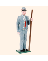 079 2 Toy Soldier Gunner with handspike Kit