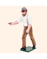 079 5 Toy Soldier Gunner with thumb stall Kit