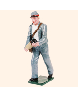 079 6 Toy Soldier Gunner with shell Kit