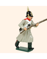 102 3 Toy Soldier Private in helmet Kit