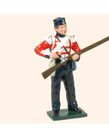 103 3 Toy Soldier Private loading British Infantry Kit