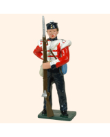 103 4 Toy Soldier Private standing British Infantry Kit