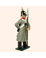 104 2 Toy Soldier Private standing Russian Infantry Kit