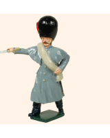 105 1 Toy Soldier Officer Coldstream Guards Kit