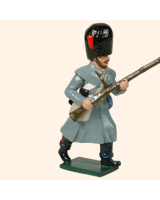 105 2 Toy Soldier Private running  Coldstream Guards Kit