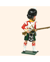 106 3 Toy Soldier Private at the ready Kit