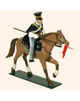114 1 Toy Soldier Trooper lance down, lean forward, Horse leg stretched out Kit