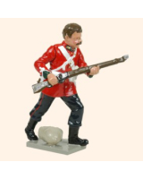 401 4 Toy Soldier Private lunging bare headed Kit