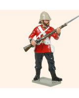 401 5 Toy Soldier Private at the ready Kit