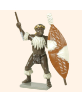 404 3 Toy Soldier Zulu Umarried Regiments Kit