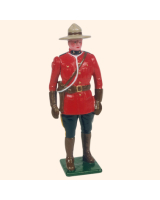 501 Toy Soldier Royal Canadian Mounted Police Kit