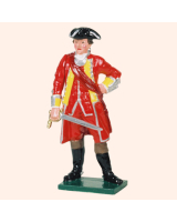 601 01 Toy Soldier Officer British Infantry Kit