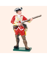 601 06 Toy Soldier Corporal at the ready British Infantry Kit