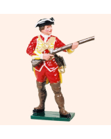601 10 Toy Soldier Private at the ready British Infantry Kit