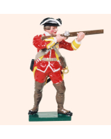 601 11 Toy Soldier Private firing British Infantry Kit