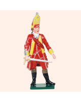 604 1 Toy Soldier Officer Grenadier Company Kit