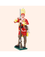604 3 Toy Soldier Grenadier loading musket Grenadier Company Kit
