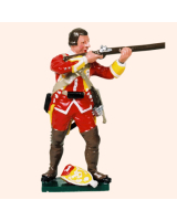 604 7 Toy Soldier Grenadier bare headed firing Grenadier Company Kit