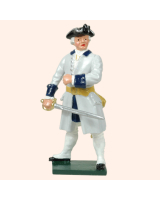 606 2 Toy Soldier Officer French Infantry Kit