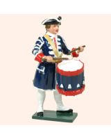 606 3 Toy Soldier Drummer French Infantry Kit