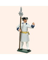 606 4 Toy Soldier Sergeant French Infantry Kit