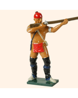 610 2 Toy Soldier Warrior Standing firing French Allies Kit