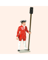 617 3 Toy Soldier Gunner with Sponge French Colonial Artillery Kit