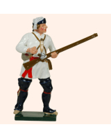 620 3 Toy Soldier Private Standing loading Compagnies Franches de la Marines Kit