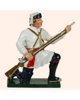 620 6 Toy Soldier Private Kneeling preparing Compagnies Franches de la Marines Kit