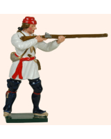 621 2 Toy Soldier Private Standing Firing Compagnies Franches de la Marines Kit