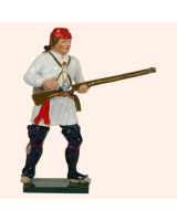621 3 Toy Soldier Private Standing loading Compagnies Franches de la Marines Kit