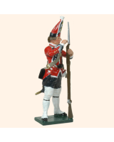 651 3 Toy Soldier Grenadier loading musket Kit