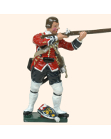 651 7 Toy Soldier Grenadier bare headed firing Kit