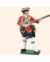 653 10 Toy Soldier Private at the ready Kit