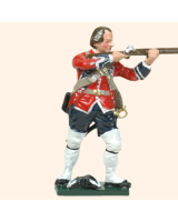 653 12  Toy Soldier Private bare headed firing Kit