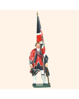 653 02 Toy Soldier Ensign with Kings Colour Kit