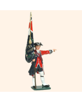 653 03 Toy Soldier Ensign with Regimental Colour Kit