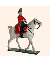656 1 Toy Soldier Mounted Officer Scots Grey Kit