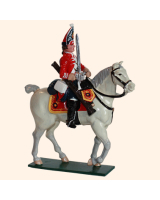 656 3 Toy Soldier Mounted Trooper Scots Grey Kit