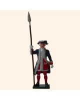 660 1 Toy Soldier Officer Kit