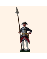 660 2 Toy Soldier Sergeant Kit