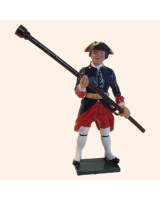 665 3 Toy Soldier Gunner with rammer Kit