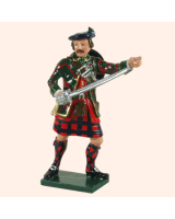 681 1 Toy Soldier Highland Officer Kit