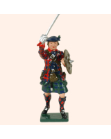 681 5 Toy Soldier Highland Clansman feet together Kit