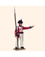 751 2 Toy Soldier Sergeant Kit