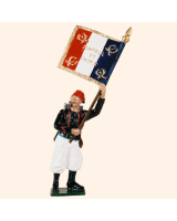805 2 Toy Soldier Standard Bearer Kit