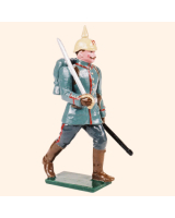 809 1 Toy Soldier Officer marching Kit