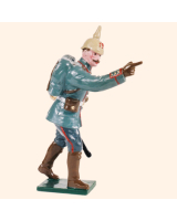 811 1 Toy Soldier Officer pointing Kit