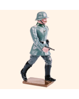 813 1 Toy Soldier Officer marching Kit