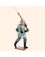 813 2 Toy Soldier NCO marching Kit